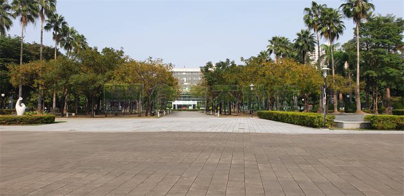 勞工公園翻新景觀美